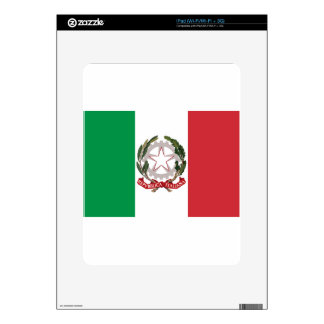 Bandiera Italiana - State Ensign of Italy iPad Decal