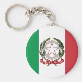 Bandiera Italiana - State Ensign of Italy Keychain