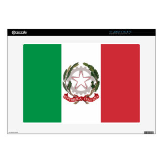 Bandiera Italiana - State Ensign of Italy Laptop Decal