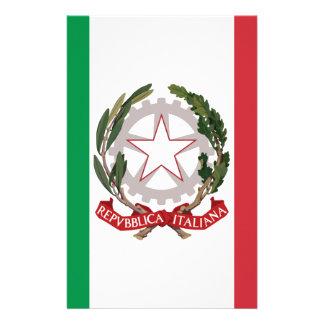 Bandiera Italiana - State Ensign of Italy Stationery