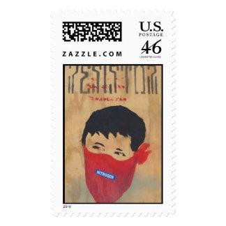 Bandit Boy Postage Stamps