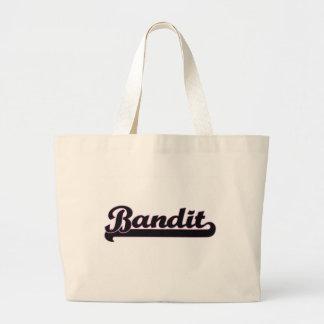 Bandit Classic Job Design Jumbo Tote Bag