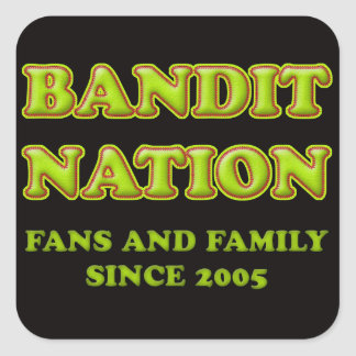 Bandit Nation Stickers