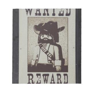 bandit notepad