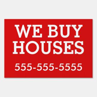 Bandit Sign: We Buy Houses Sign