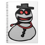 Bandit snowman note books