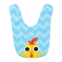 Bandit the Chick Bib
