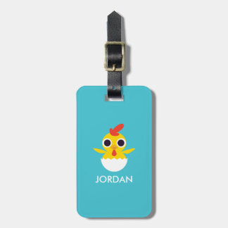 Bandit the Chick Luggage Tag