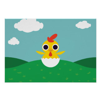 Bandit the Chick Poster