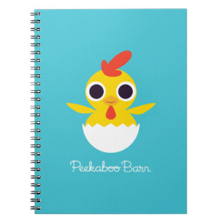 Bandit the Chick Spiral Notebook