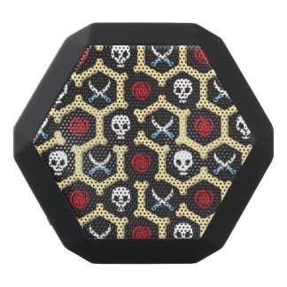 Bandit Theme Pattern Black Bluetooth Speaker