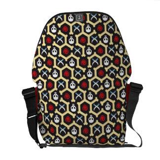 Bandit Theme Pattern Messenger Bag