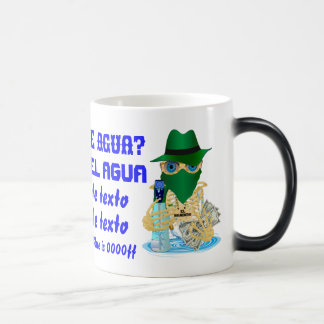 Bandit Water Conservation Customize Spanish Magic Mug