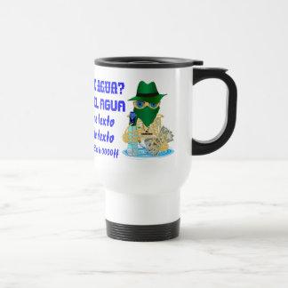 Bandit Water Conservation Customize Spanish Travel Mug