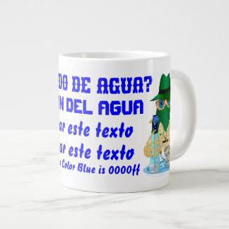 Bandit Water JUMBO Customize All Styles Spanish Giant Coffee Mug