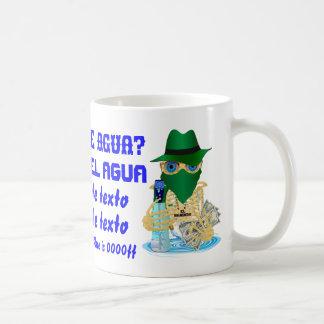 Bandit Water NOT JUMBO Customize Spanish Coffee Mug