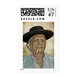 Bandito?  Gringo? Postage Stamp