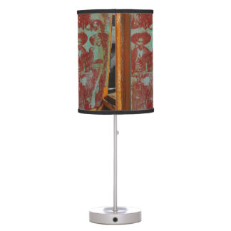 Banditos on the Loose Table Lamp