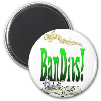 Bandits 2 Inch Round Magnet