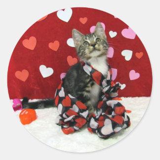Bandit's Best Dressed Valentine's Stickers