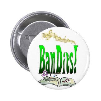 Bandits Pinback Buttons