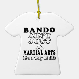 Bando Ain't Just A Game It's A Way Of Life Christmas Ornament