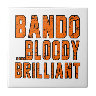 Bando Bloody brilliant Small Square Tile