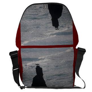 Bandon Beach Offshore Rocks Brandts Cormorant Courier Bag