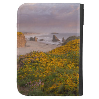 Bandon Beach Offshore Rocks Yellow Flowering Gorse Kindle 3G Case