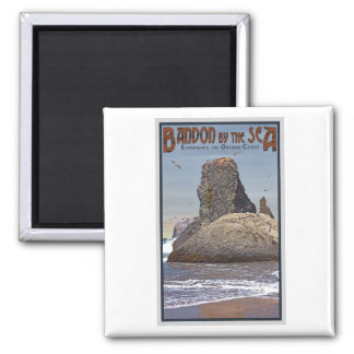 Bandon by the Seas 2 Inch Square Magnet