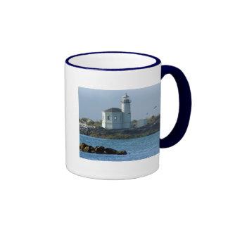 Bandon Lighthouse Ringer Coffee Mug