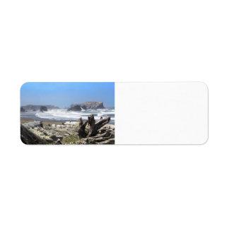 Bandon Oregon Coast Return Address Labels