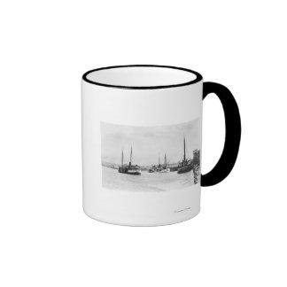 Bandon, Oregon View of Harbor Waterfront Mug