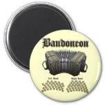 Bandoneon 2 imán redondo 5 cm