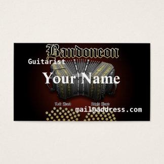 Bandoneon Business Card