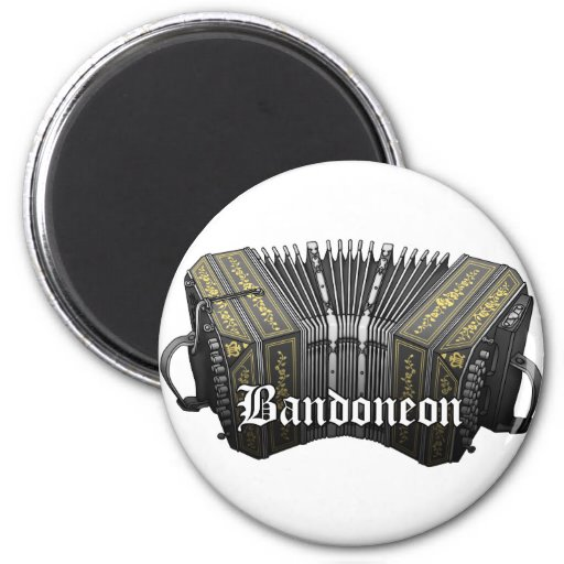 Bandoneon Imán Redondo 5 Cm