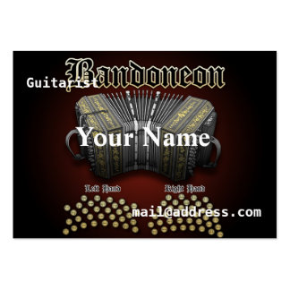 Bandoneon Large Business Card