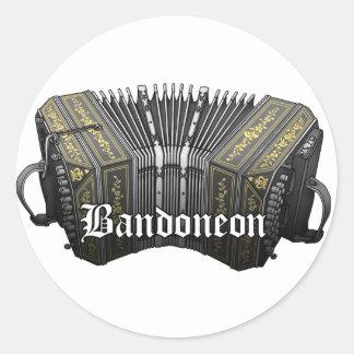 Bandoneon Round Sticker