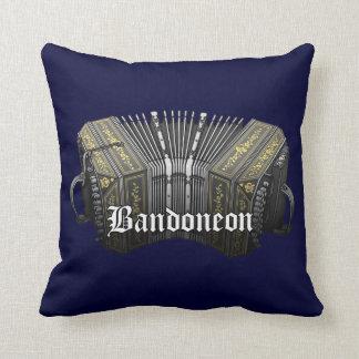 Bandoneon Throw Pillow
