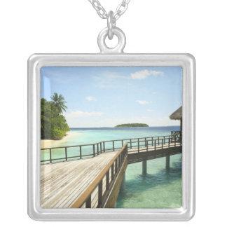 Bandos Island Resort, North Male Atoll, The 2 Square Pendant Necklace