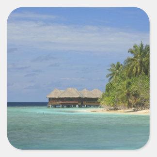 Bandos Island Resort, North Male Atoll, The Square Sticker