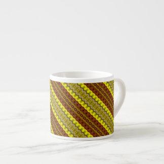 Bands of Autumn Espresso Mug 6 Oz Ceramic Espresso Cup