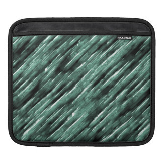 Bands of Green Light Sleeve For iPads