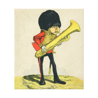 Bandsman of the Grenadier Guards Gallery Wrap Canvas