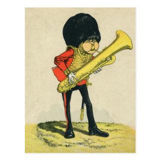 Bandsman of the Grenadier Guards Postcard