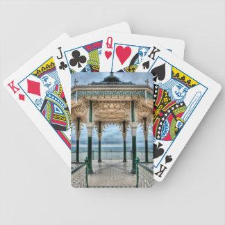 Bandstand de Brighton, Inglaterra Baraja Cartas De Poker
