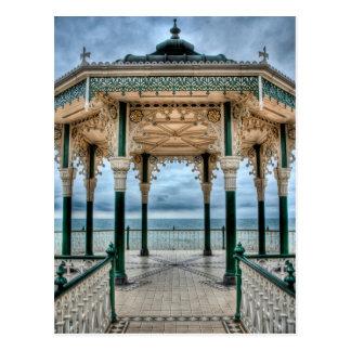 Bandstand de Brighton, Inglaterra Tarjeta Postal