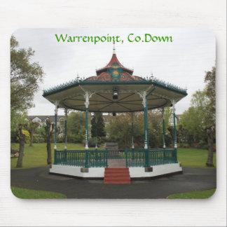 Bandstand del parque de Warrenpoint Alfombrilla De Ratón