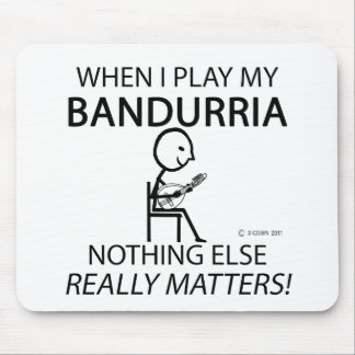 Bandurria Nothing Else Matters Mouse Pad