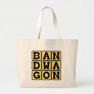 Bandwagon, Fashionable Activity Large Tote Bag
